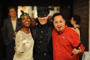 Performers pose at a past annual SPARK celebration
