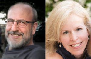 Keynote speakers at ARC Conference, Emily Colson & Matt Cohen.