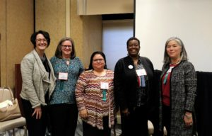 Center for Independent Futures staff pose after attending and presenting at ARC Conference