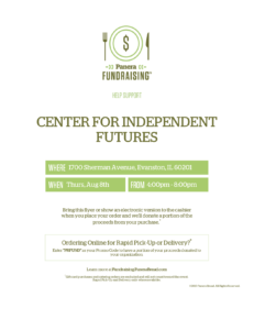 Image of flyer necessary to guarantee purchase contributes to fundraiser. Must be shown at time of purchase.