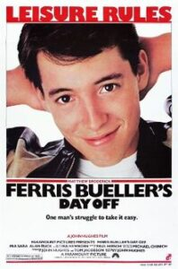 """Movie poster for """"Ferris Bueller's Day Off"""""""